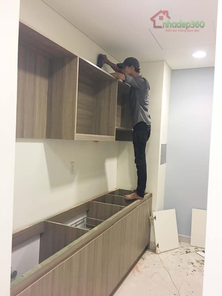 Thiết kế và thi công căn hộ chung cư cao cấp Sora Garden - Bình Dương