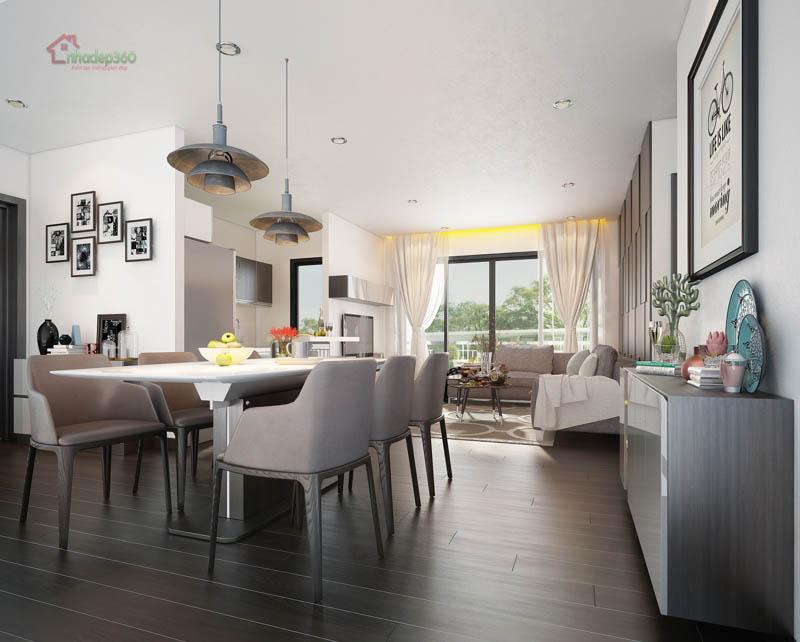 Thiết kế căn hộ đẹp North Sunrise City - Q7