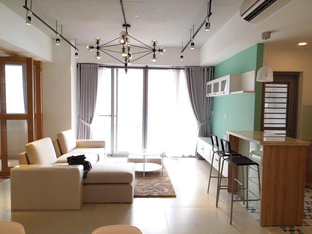 Thi công nội thất trọn gói căn hộ chung cư 108 m2 Green Valley - Phú Mỹ Hưng - Q7