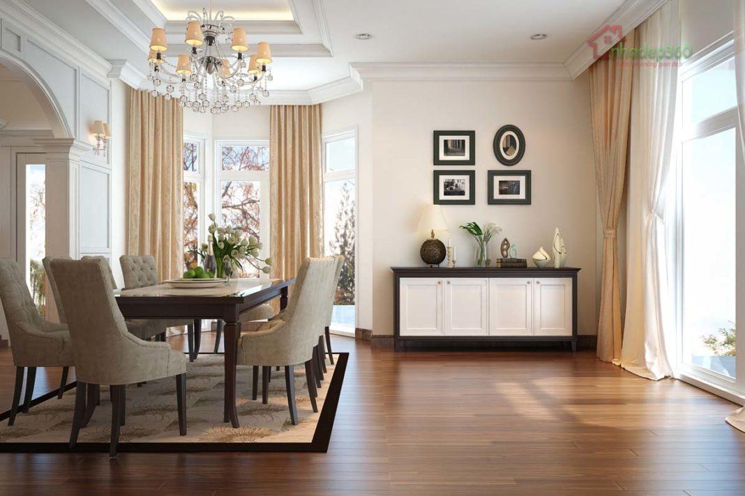 Thiết kế nội thất biệt thự tân cổ điển Thảo Điền - Q2