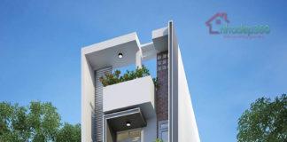 Thiết kế nhà phố 5x18 Phan Văn Trị - Gò Vấp