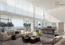Thiết kế nội thất căn hộ Penthouse cao cấp Vincom Center - Q1