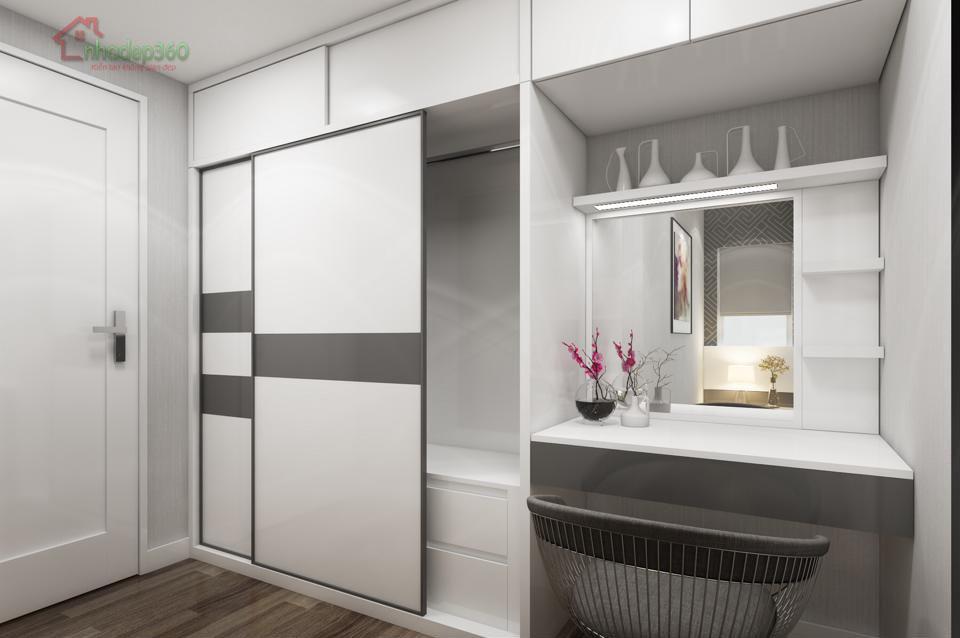 Thiết kế nội thất căn hộ chung cư Vinhomes Tân Cảng - Bình Thạnh