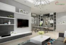 Thiết kế nội thất căn hộ chung cư Vinhomes Tân Cảng - Bình Thạnh.