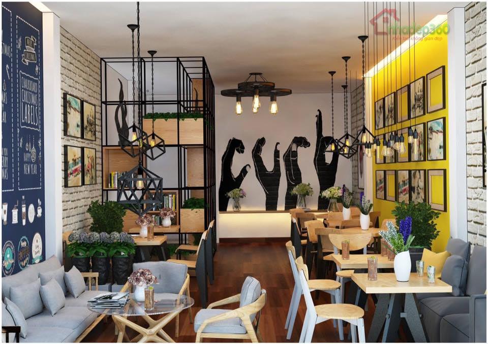 Trang trí nội thất quán cà phê take a way Thủ Dầu Một - Bình Dương