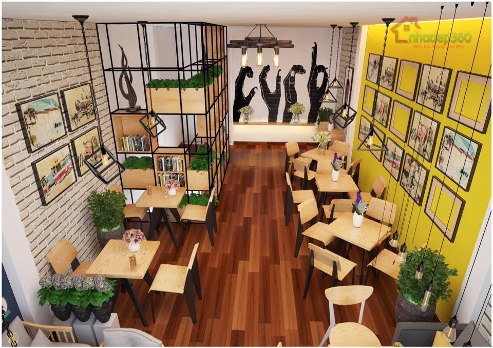 Thiết kế trang trí quán cà phê