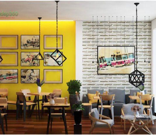 Thiết kế nội thất quán cà phê take a way Thủ Dầu Một – Bình Dương