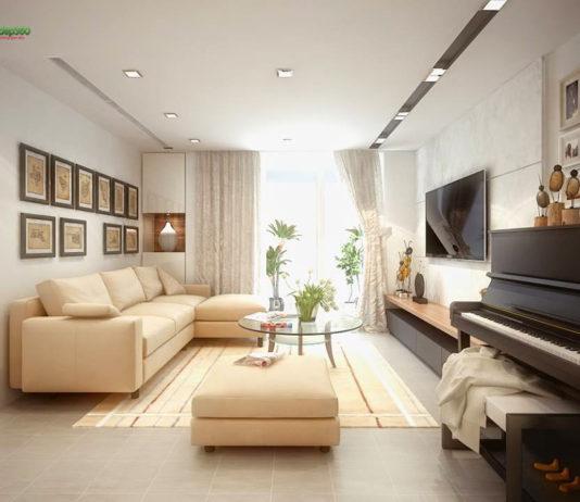 Thiết kế nội thất chung cư ở quận 2 - Hồ Chí Minh
