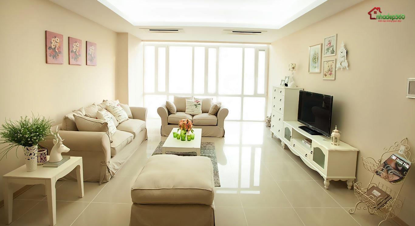 Thiết kế nội thất chung cư ở quận 2 Hồ Chí Minh