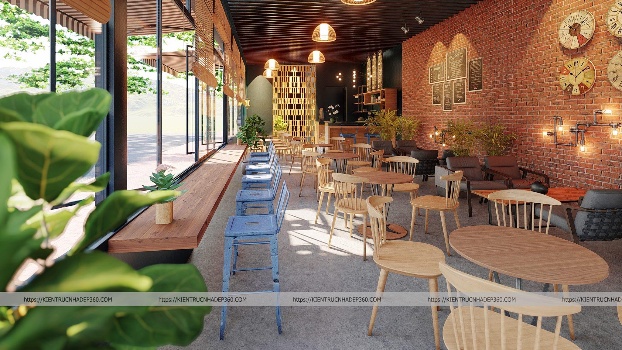 Thiết kế thi công nội thất quán Cafe đẹp ở Tp Hồ Chí Minh