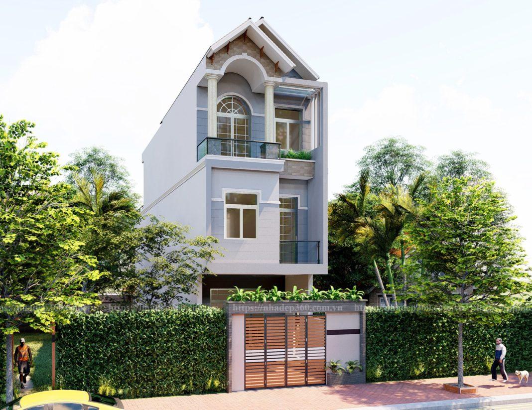 Thiết kế nhà phố đẹp tại Bình Dương