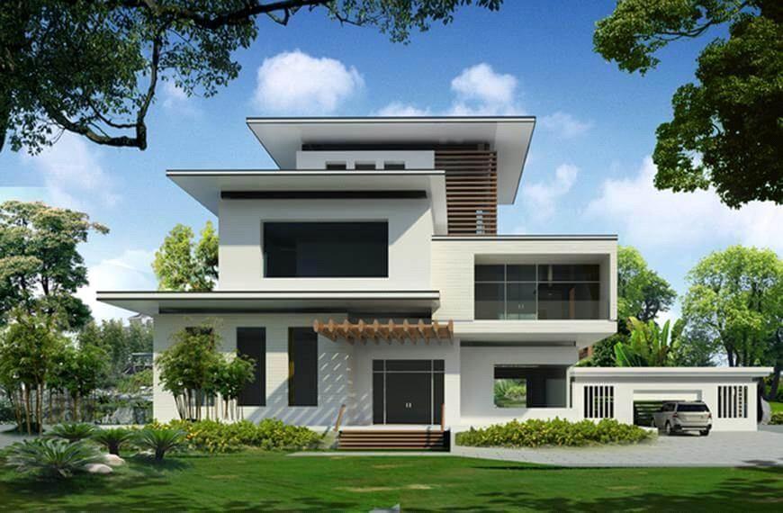 thiết kế kiến trúc nhà đẹp tại bình dương
